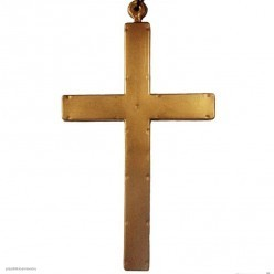 Крест на шнурке 24*13,5см (пластик)