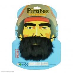 Набор Пирата: борода, брови
