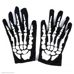 """Перчатки """"Скелет"""" 21см"""