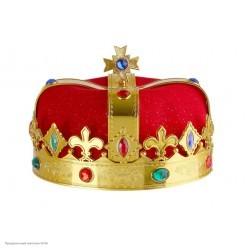 Шапка Короля с короной 16*19*19см (пластик)