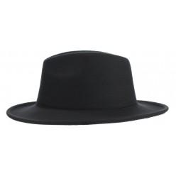 """Шляпа Мужская """"Гангстер"""" чёрная"""