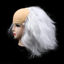 """Парик """"Лысина с волосами"""" (седой)"""