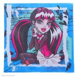 "Салфетки ""Monster High"" 33*33см 20шт"
