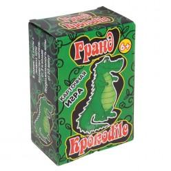 "Игра ""Гранд Крокодил"" (72 карточки) 6+ 11*7см"