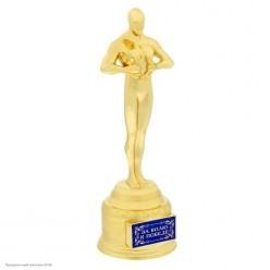 """Награда Оскар """"За волю к победе"""" 18,5*6,6*6см"""