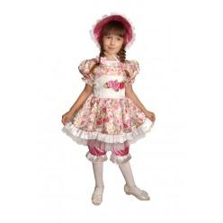 """Костюм детский """"Кукла в шляпке"""" р.26, 110 см"""