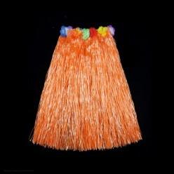 Юбка гавайская 60см (оранжевая)