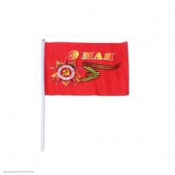 "Флаг ""9 Мая"" шёлк 20*30см"