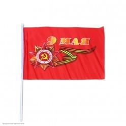 "Флаг ""9 Мая"" шёлк 40*60см"