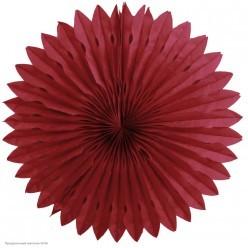Фант бумажный резной 40см бордовый