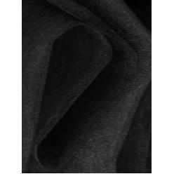 Фатин блестящий 3м чёрный (1м/пог)