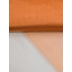 Фатин блестящий 3м оранжевый (1м/пог)