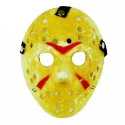 "Маска Джейсон ""Пятница 13"" жёлтая (пластик)"
