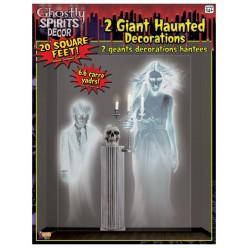 """Декорация на стену для Хэллоуина """"Привидения"""" 162*122см"""