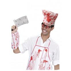 Набор Кровавого повара (колпак, фартук, нарукавник)