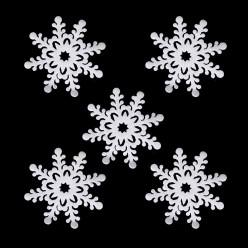Снежинки Набор 5 штук, 15см (пенополиэтилен, блеск)