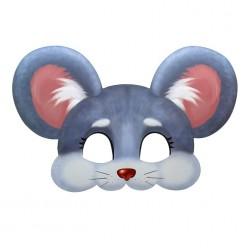 Маска Мышка (картон) 29*19,4см