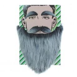 Набор Седой старик (борода, усы, брови)