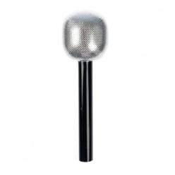 Микрофон 20*6,5см, серебристый (имитация)