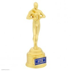 "Награда Оскар ""Лучший муж на свете"" 18,5*6,6*6см"