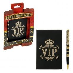 """Набор обложка для паспорта + ручка """"VIP. Успех во всём"""""""