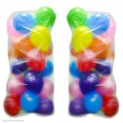 Пакет для транспортировки надутых шаров 100*165см
