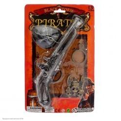 Набор Пирата (мушкет, наглазник, медальон, серьга) 29*19см