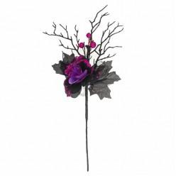"""Букет """"Увядание"""" чёрно-фиолетовый"""