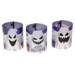 """Набор плафонов для LED-свечей """"Привидения"""" 3 шт 29,7*10см"""