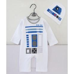"""Костюм детский Мини """"Дроид R2-D2"""" 80-84 см"""