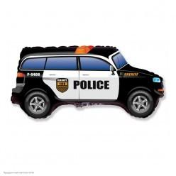 Шар фольга Полицейская машина 48*85 см