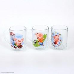 Кружка СГ Свинка (стекло) 220мл