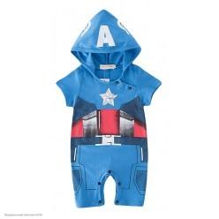 "Костюм детский ""Мини Капитан Америка"" 74-80 см"