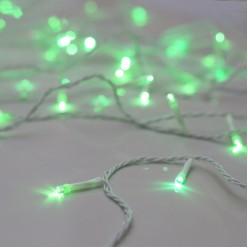 Электрогирлянда LED Нить 60 ламп 5,7м зелёная