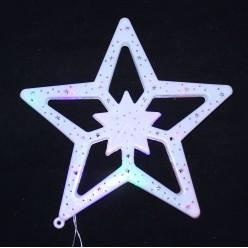 """Электрофигура LED малая """"Звезда"""" 28*26,5см (пластик)"""
