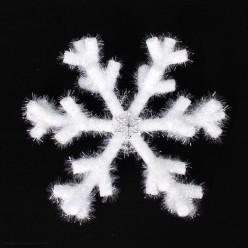 Снежинка объёмная 37см белая (пенополиэтилен)