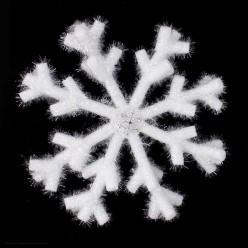 Снежинка объёмная 46см белая (пенополиэтилен)