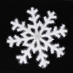 Снежинка объёмная 44см белая (пенополиэтилен)