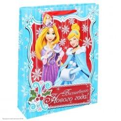 Пакет подарочный MS 31*40*9см Принцессы Диснея