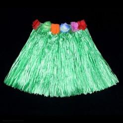 Юбка гавайская 40 см (зелёная)