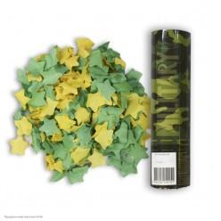 Пневмохлопушка 20см Милитари конфетти (бумага)