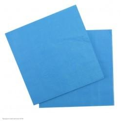 Салфетки голубые 33*33см, 12шт