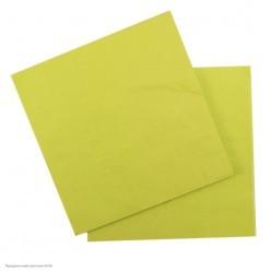 Салфетки зелёные 33*33см, 12шт