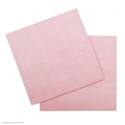 Салфетки розовые 33*33см, 12шт