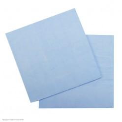 Салфетки светло-голубые 33*33см, 12шт