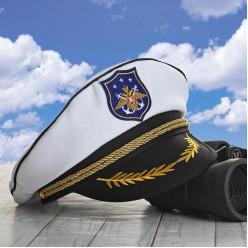 """Фуражка морская """"Морской герб"""""""