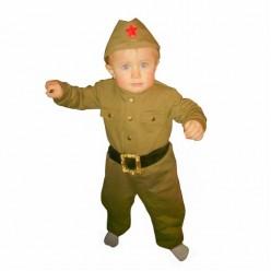 """Костюм детский """"Солдат ВОВ"""" малыш, 80 см, 1-2 года"""