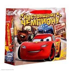 """Пакет-открытка 23*27*8см """"Настоящему чемпиону"""" Тачки"""