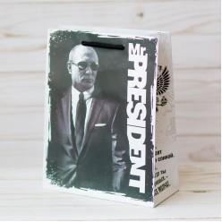"""Пакет MS 18*23*8см ламинация """"Mr. President"""""""