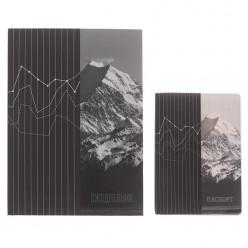 """Набор Ежедневник +обложка на паспорт """"Достигай высот"""""""